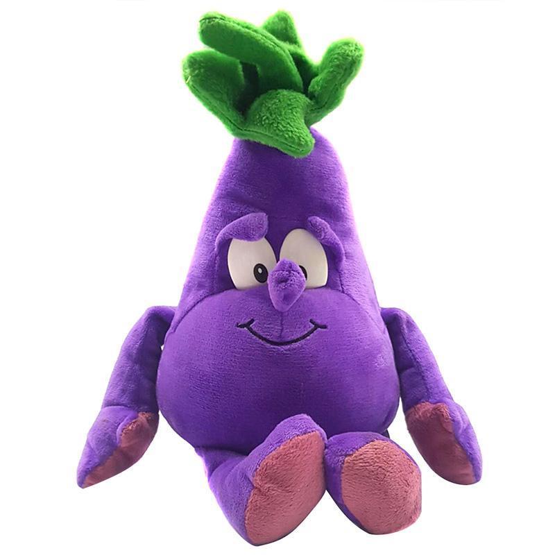 الخضروات 1PCS الفاكهة لينة القطيفة لعبة دمية محشوة هدية لطيف للأطفال الأطفال دعم بالجملة ودروبشيبينغ الكرتون عيد الميلاد الجديد