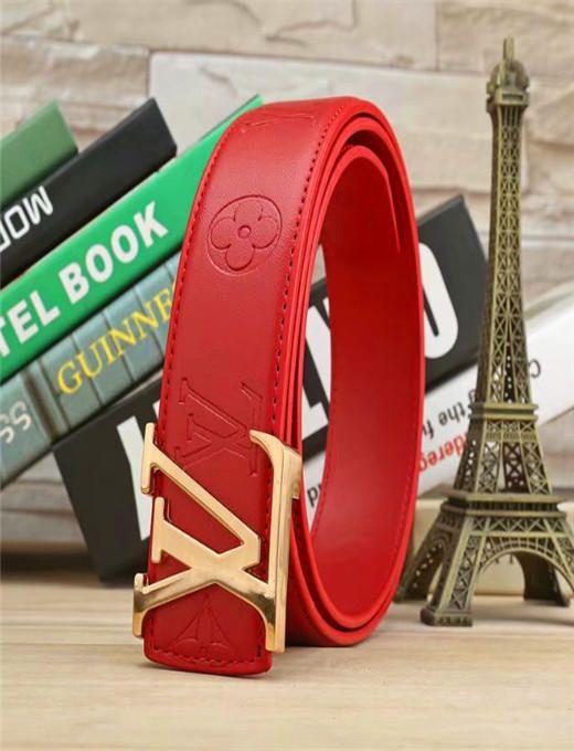 TOP ceinture des femmes d'hommes de haute qualité véritable couleur Plaid cuir Designer Ceinture en cuir de vache pour la mode des hommes de ceinture Livraison gratuite