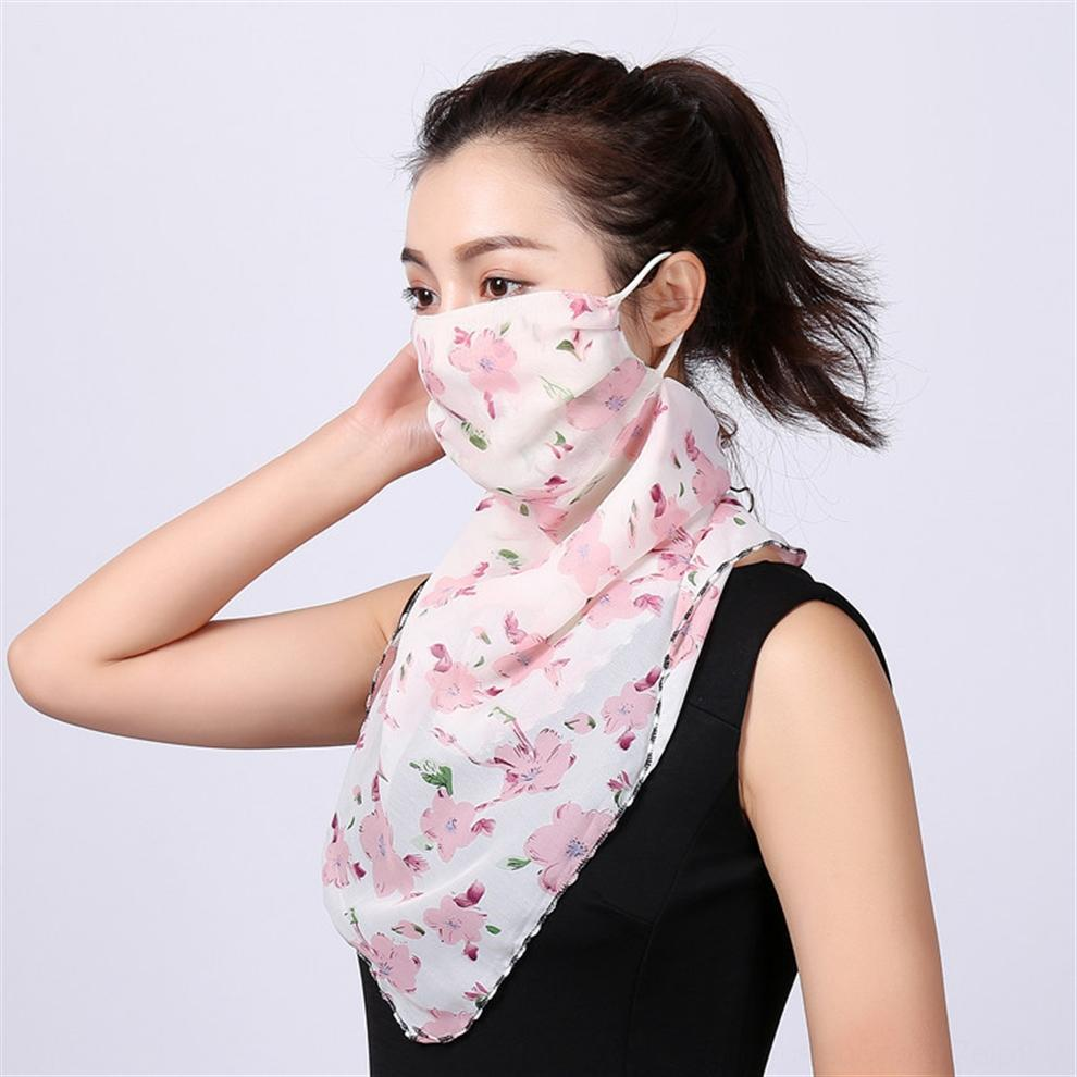 Lu0l3 Cycling Scarf Half Outdoor Mask Cool Ice Silk Multifunction Face Sports Earloop Scarf Headscarf Breathable Bicycle Anti-U