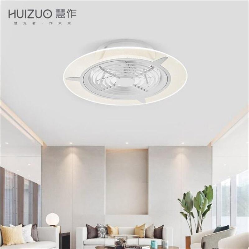 Xiaomi Youpin HuiZuo Intelligent Ceiling Fan Light Lamp Invisible Crescent White FS33 FS34 Indoor Light Fixtures
