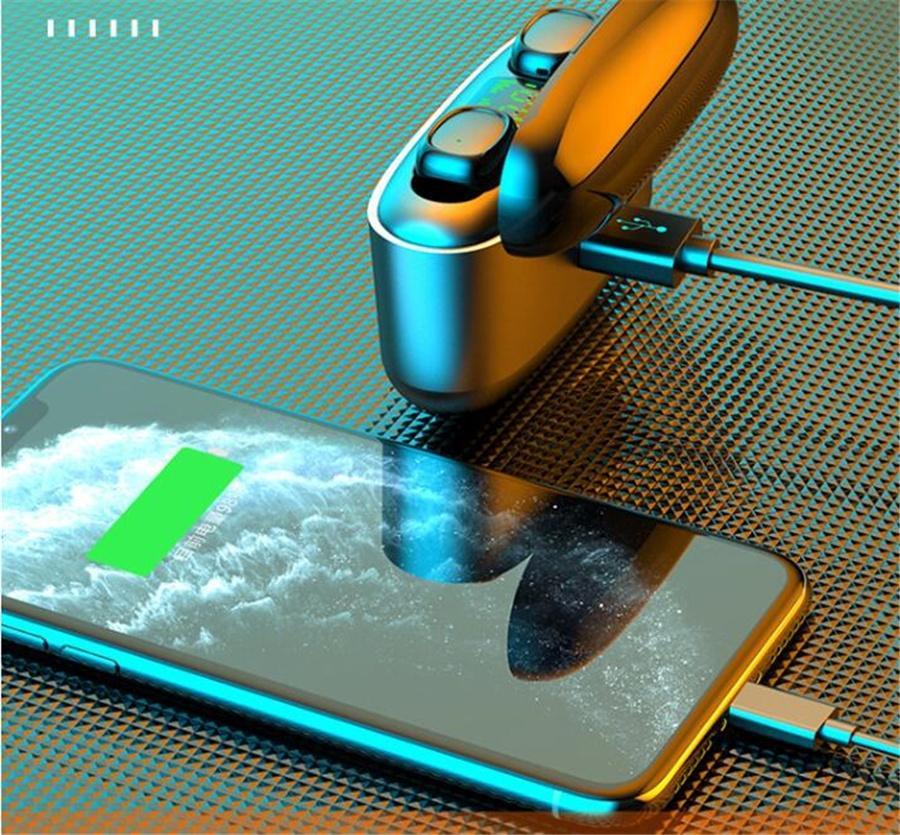 TWS Earbuds 5.0 Беспроводная связь Bluetooth наушники Сенсорное управление Спортивные стерео наушники для Samsung Huawei смартфон # OU757