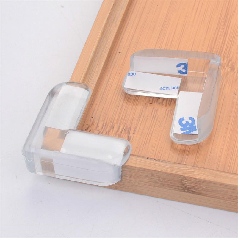 Child Baby Safe Silicone Protectors Desk Table Corner Edge Anticollision Covers