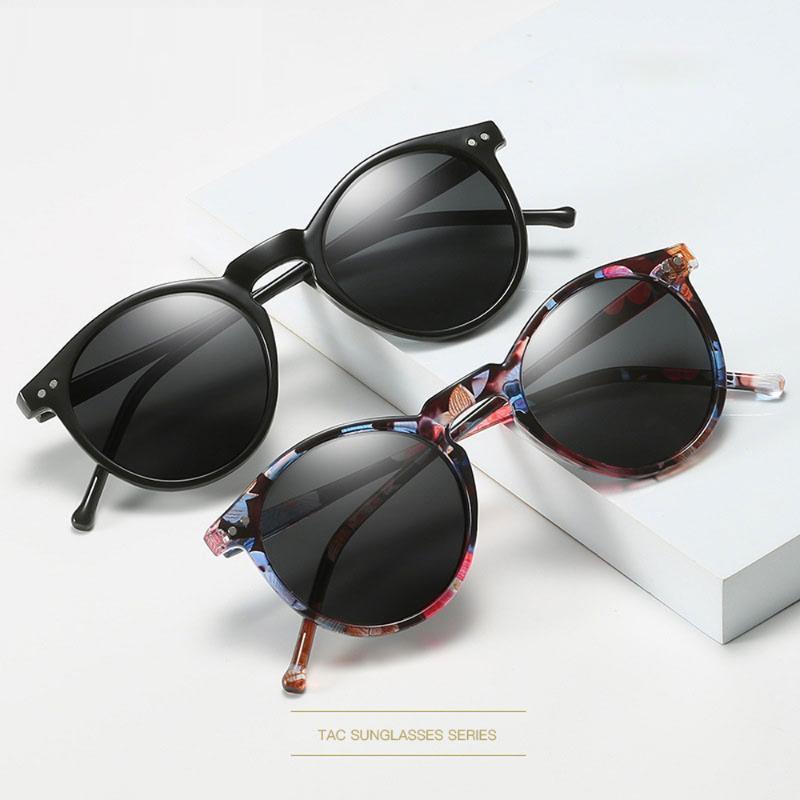 De polarizado óculos de sol retrô óculos marca homens sol sol redondo mulheres mulheres vintage óculos uv400 sol gafas 2020 oculos cmauf
