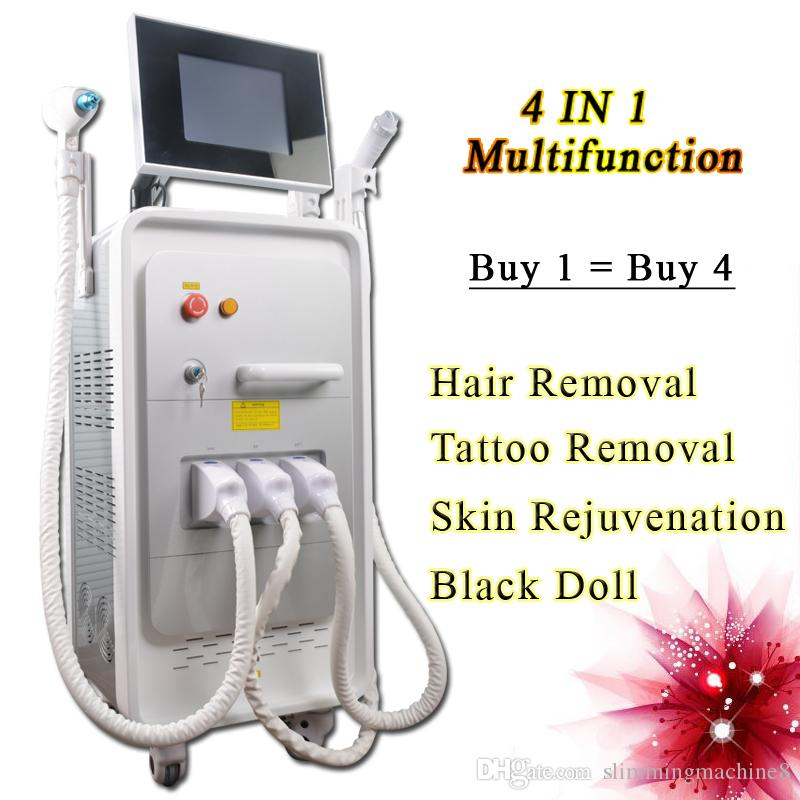 OPT SHR laser hair removal IPL machines elight permanent hair removal salon use nd yag tattoo removal facial machine