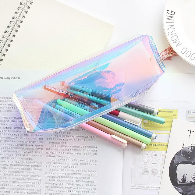 Laser Flare Travel Storage Bag Portable Digital USB Gadget Charger Wires Cosmetic Zipper Pouch Case Accessories Supplies
