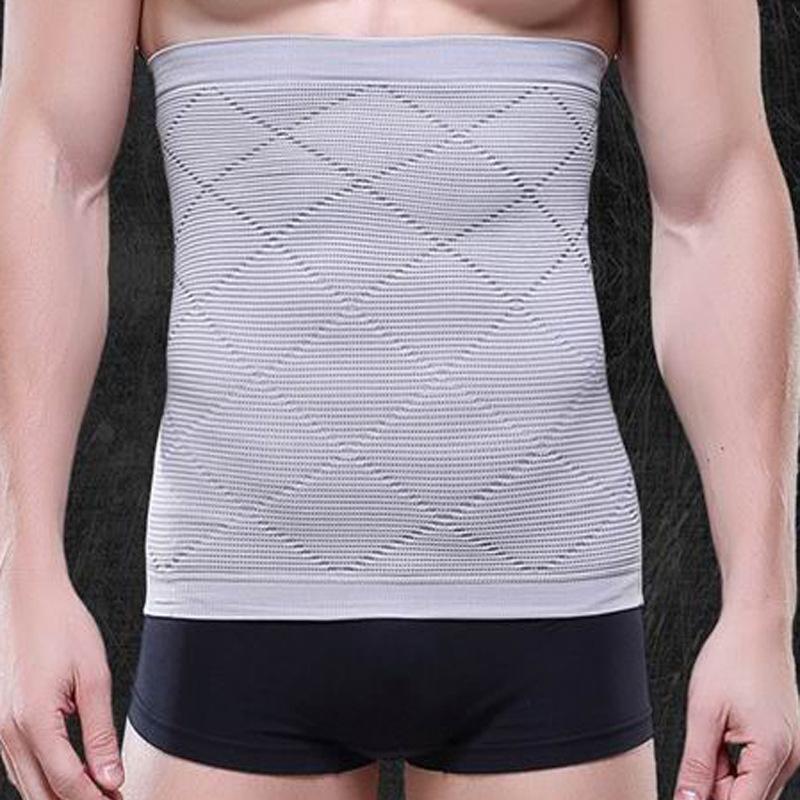 barriga selo respirável cuecas de moldar corpo de plástico cintura cinto abdominal de ligação de cinto masculina fina masculina Roupa interior NY014