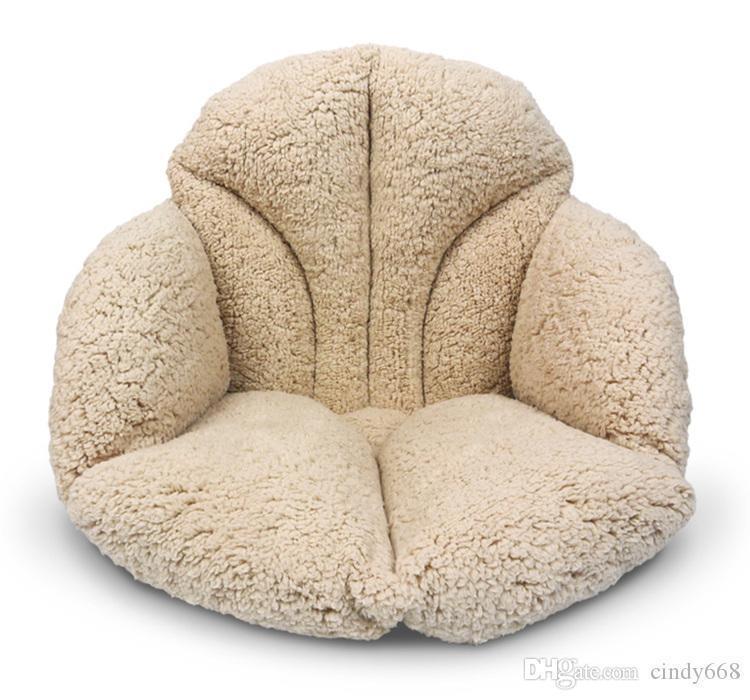 58 * 39 * 39 cm en plein air doux coussins oreillers Siège Coussin Décor À La maison moelleux chaise coussins épais Coton En Peluche retour Pad Pour Canapé
