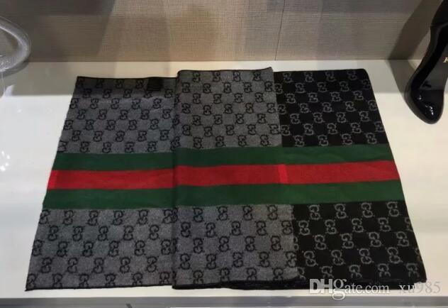 Nueva bufanda de la manera caliente de ropa masculina de la marca bufanda bufanda larga 176x31cm alta calidad