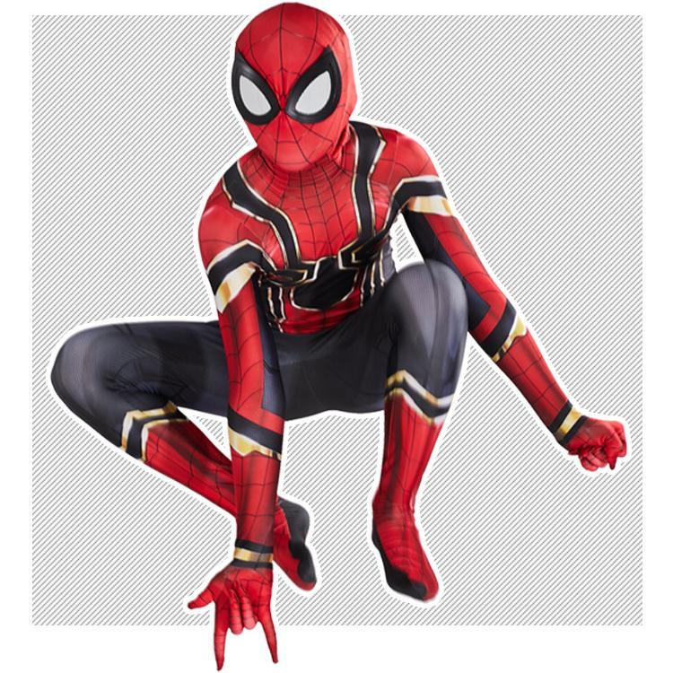 New Spiderman Mascot Costume Fancy Party Dress Role play size:140cm 180 cm