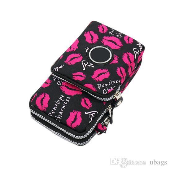 Großhandel Frauen Messenger Crossbody Tasche Brieftasche Handtasche Handytasche Fall Reißverschluss Lässig Umhängetasche Geldbörse Neu