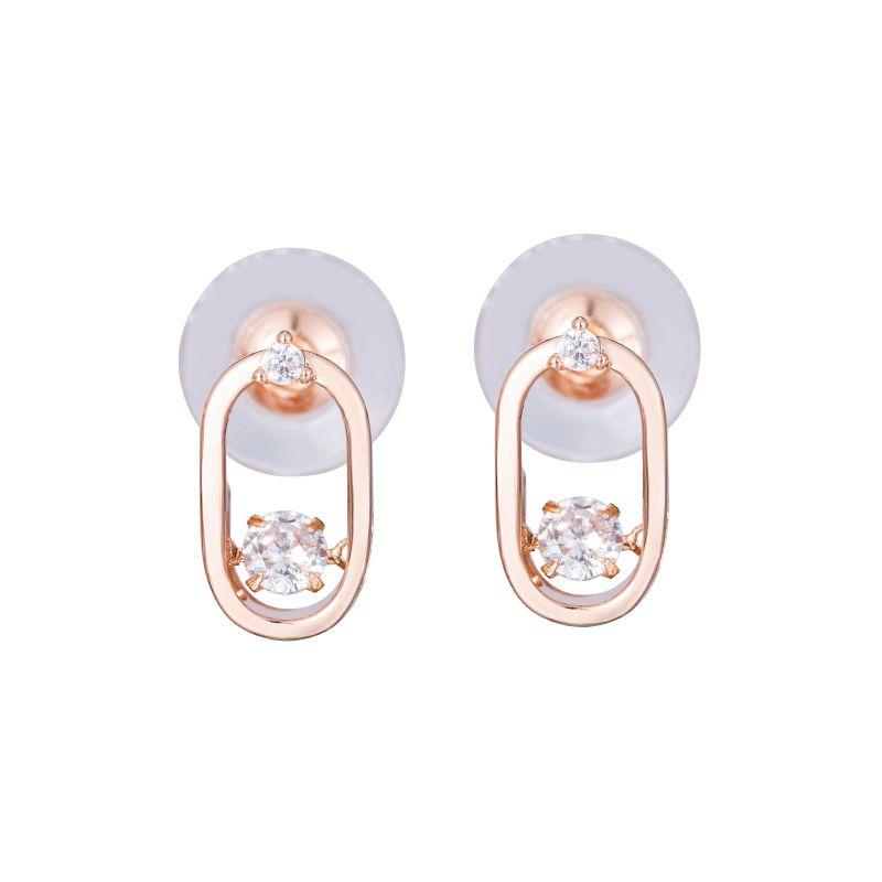 orecchini di cristallo moda danzanti e orecchini di alta qualità e borchie SWA collana di gioielli in cristallo paio dono Festival