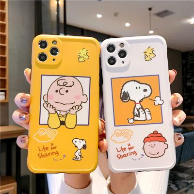 Encantador dos desenhos animados TPU Phone Case para iPhone 11 Pro XS Max 6 7 8 Plus XR