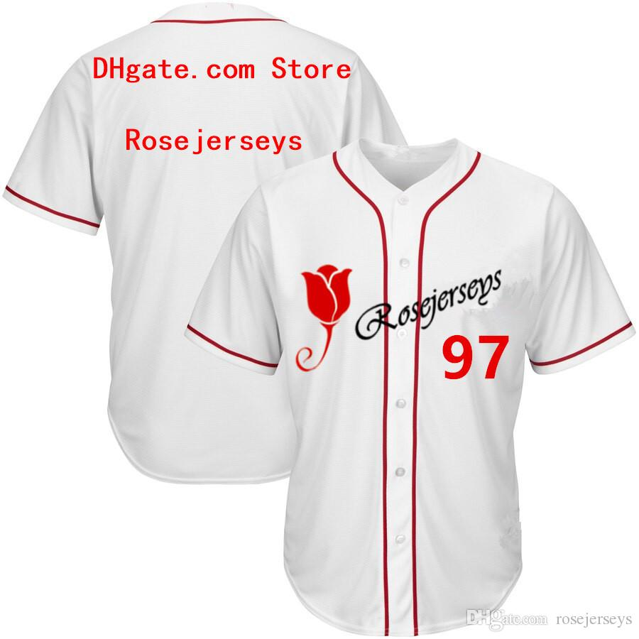 RJ123-097 Baseball Jerseys #097 Men Women Youth Kid Adult Lady Personalized Stitched Any Your Own Name Number S-4XL