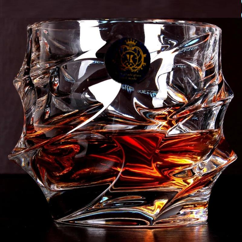 Hot Sale Big Whisky Wine Glass Lead-free Crystal Cups High Capacity Beer Glass Wine Cup Bar Hotel Drinkware Brand Vaso Copos Y200107