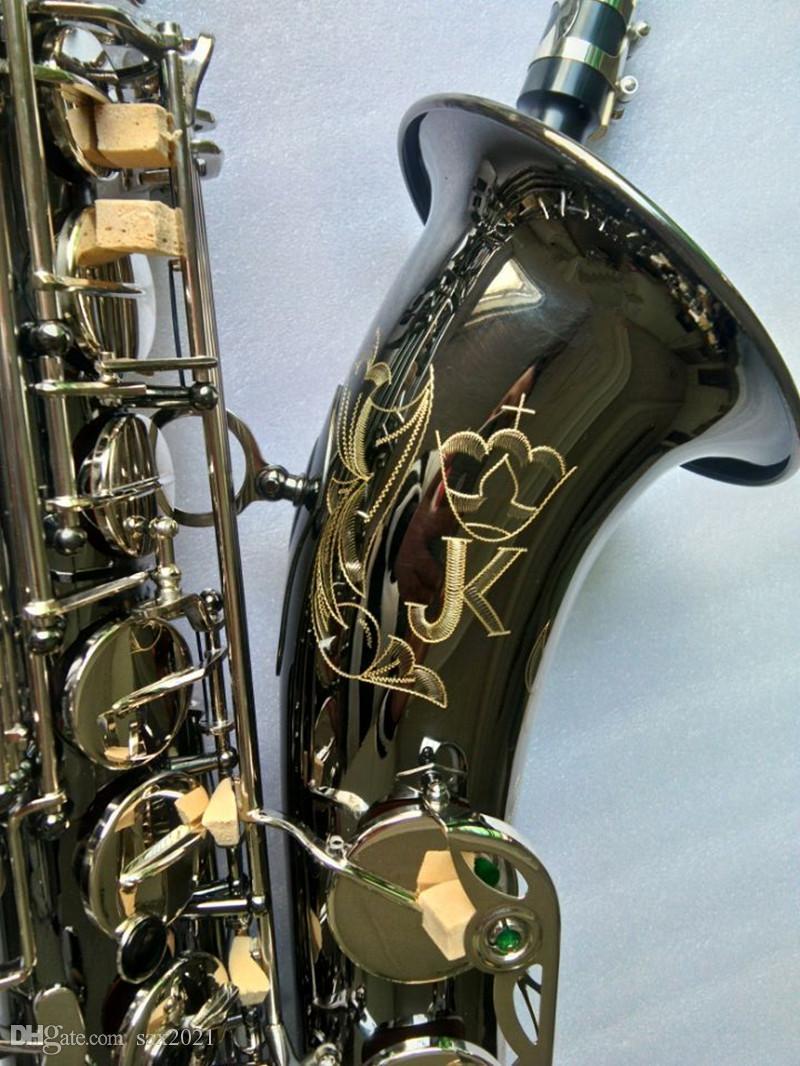 Top 95% copia Germania JK SX90R Keilwerth Sassofono tenore nero strumento Tenor Sax professionale Musicale Con Sax boccaglio gratuito