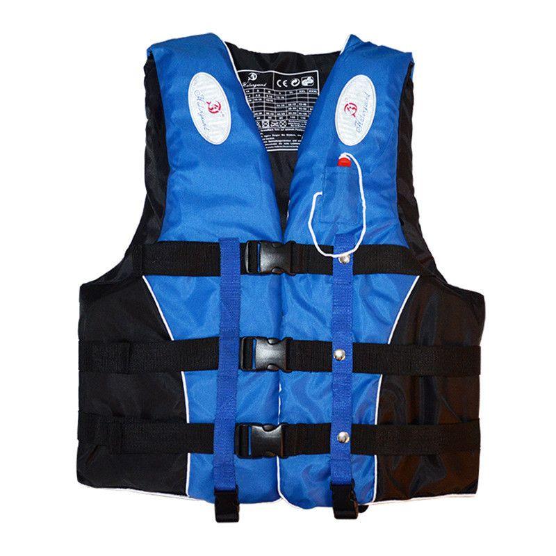 Düdük M-XXXL Boyutları Su Sporları Man Kadınlar Ceket ile Polyester Yetişkin Can yeleği Ceket Yüzme Tekne Kayak Sürüklenen Can yeleği