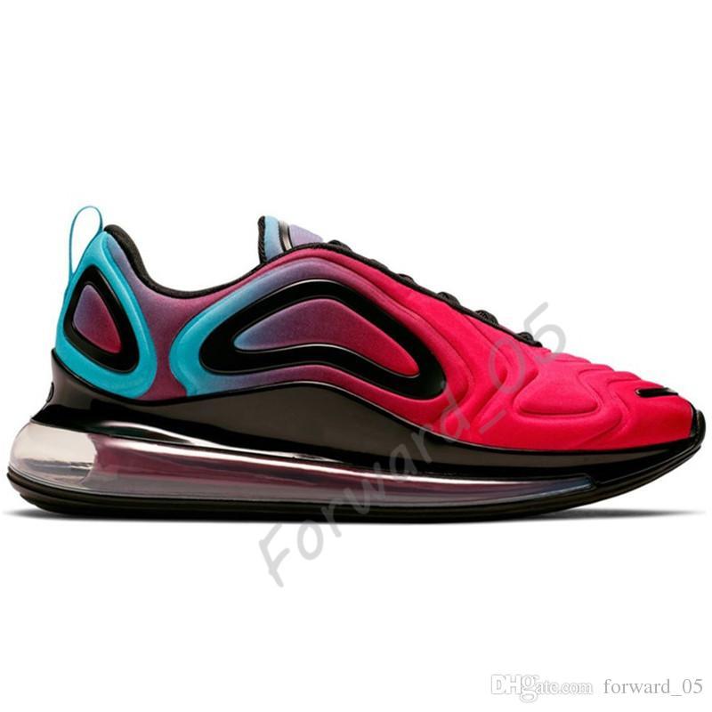 Acheter Nike Air Max 720 Be True Men Chaussures De Course Fierté Université Rouge Blanc Esprit Sarcelle Obsidienne Bleu Fureur Total Eclipse Femmes