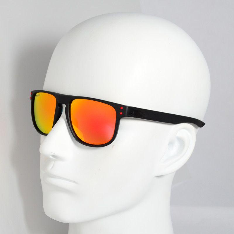 Marca caliente de conducción gafas de sol deportivas gafas de sol polarizadas para los hombres retro gafas de espejo gafas gafas ciclismo Eyegla