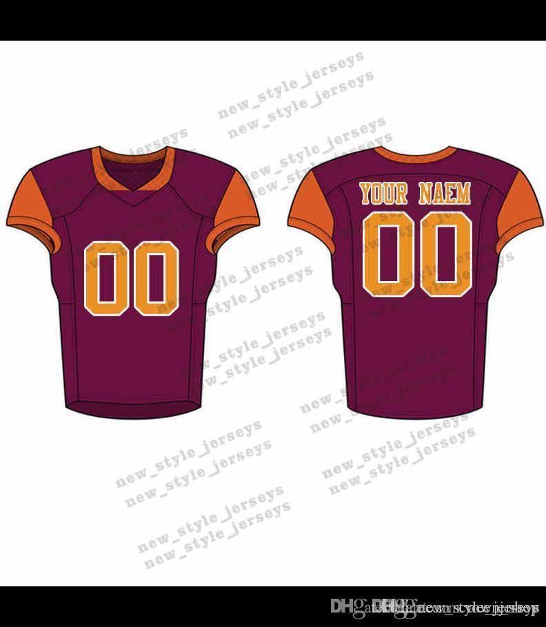 2020 63Men 2019 Fútbol Juvenil verde del ejército jerseys Vino tinto insignias del bordado cosido encargo cualquier nombre Cualquier número jerseys