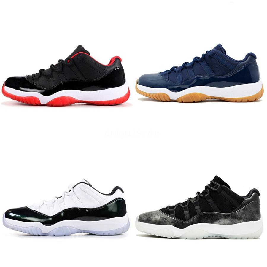 أسعار الجملة منخفضة Jumpman أحذية كرة السلة للرجال 11S رجالي رياضية مدرب بلا خوف ترافيس سكوتس قرمزي تينت مصمم Sneake # 586