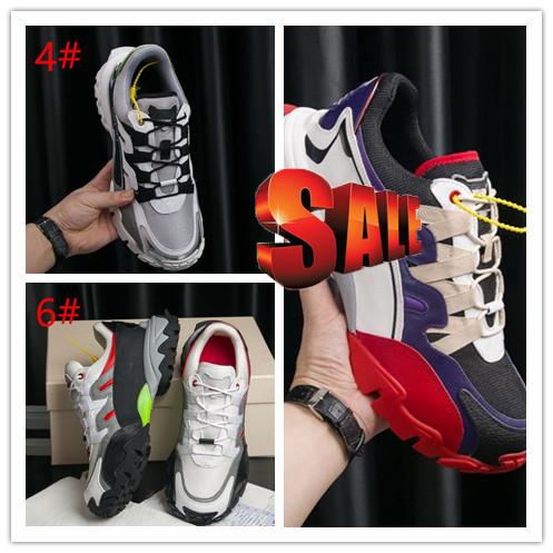 Новая роскошная дизайнерская обувь дешевые мужские женские кроссовки открытая обувь с высококачественными заклепками альпинисты гравировка кожа с коробкой I6