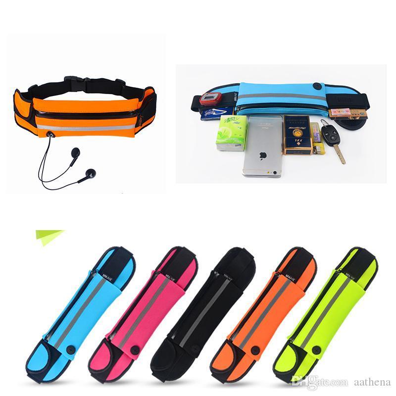 5 couleurs Poches imperméables en plein air Course à pied Cyclisme Voyage Randonnée Sport Poches Out Poches portable étanche gratuites PASSER
