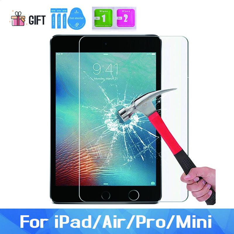 """9H экран протектор для iPad Air 2 1 5-й 6-й GEN 9,7 """"Закаленное стекло PRO 11 12.9 Экраны защиты"""