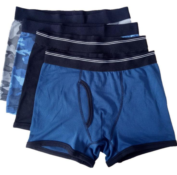 Erkek Seksi Rahat Boksörler Külot Moda Artı Boyutu Nefes Elastik İç Moda Erkek Aktif İç Çamaşırı Homme Giyim