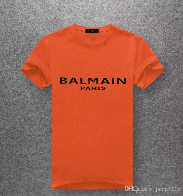Nouveau T-shirt Homme Coton À Manches Courtes En Coton Designer Tshirt Prints Col Rond Slim Tee Homme De Mode Pullover Planche À Roulettes Tops 100% coton