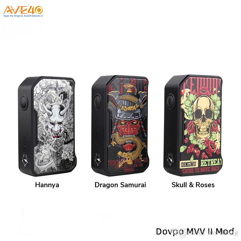 Original Dovpo M VV II Box Mod 280W 510 Threded Dovpo Mod Power by Dual 18650 Battery