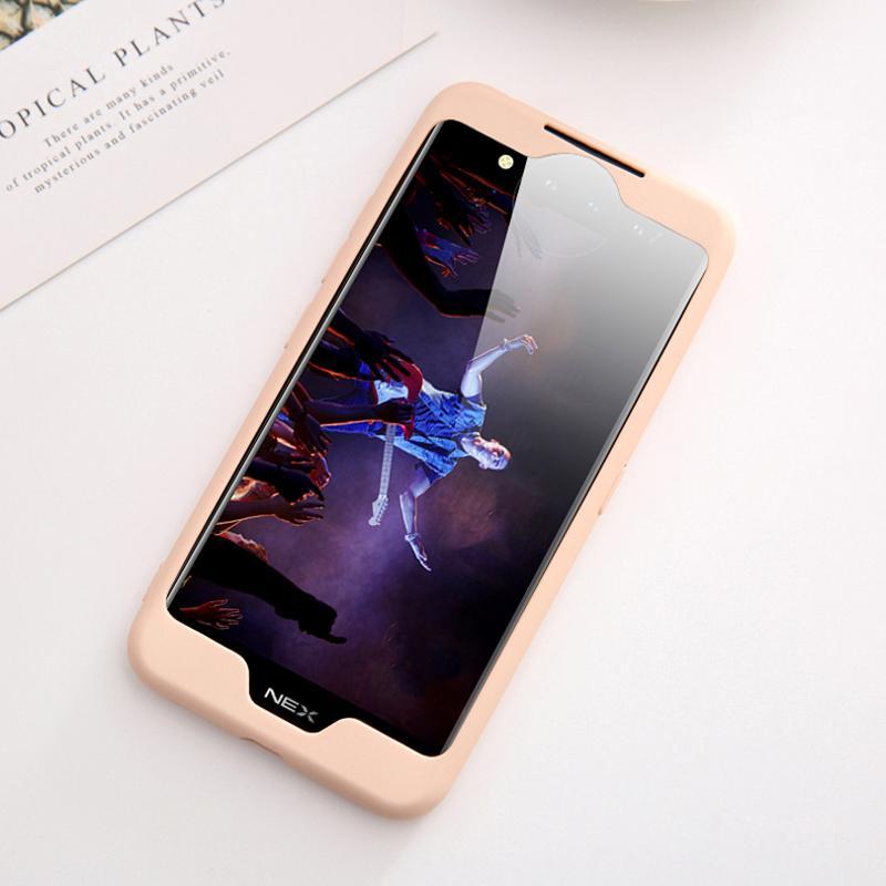 Чехол для телефона с анти-царапин подкладка из микрофибры Hard Shell противоударный Fullbody Защитная крышка чехол для VIVO NEX
