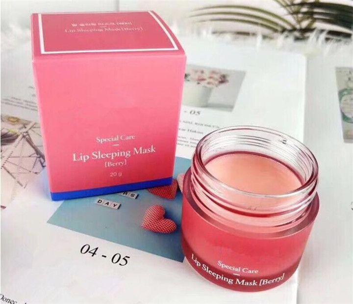 Laneige Special Care Lip Sleeping Mask Bálsamo labial Lápiz labial Hidratante LZ Brand Lip Care Cosmético DHL GRATIS