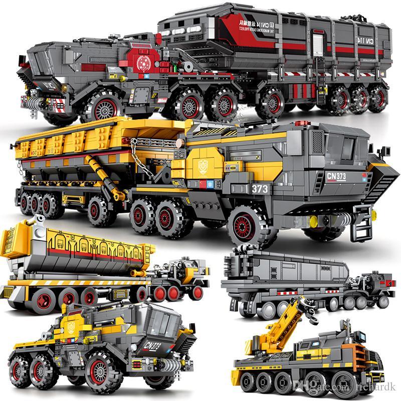 Mailackers Filme Technic Series The Wandering Terra Modelo Set Brinquedos Filme Blocos educacionais Kids Brinquedos