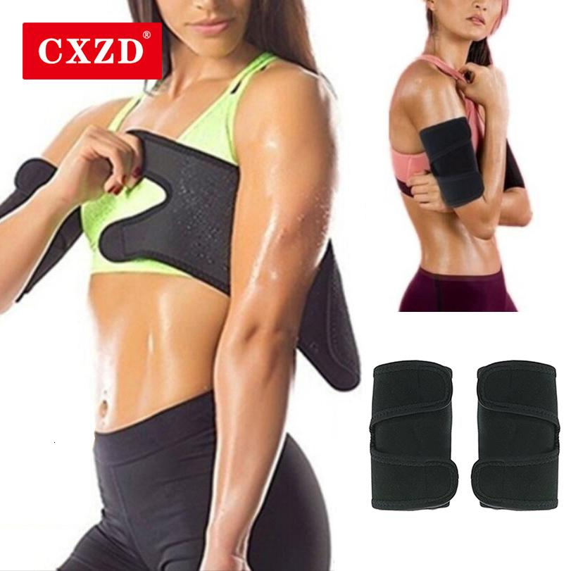 Cxzd 1pair women's Arm Neoprene Control Shapers Weightloss Anti Cellulite Sauna Arm Pad Miting Trimmer Arm Shapers Sleeping Sleeping
