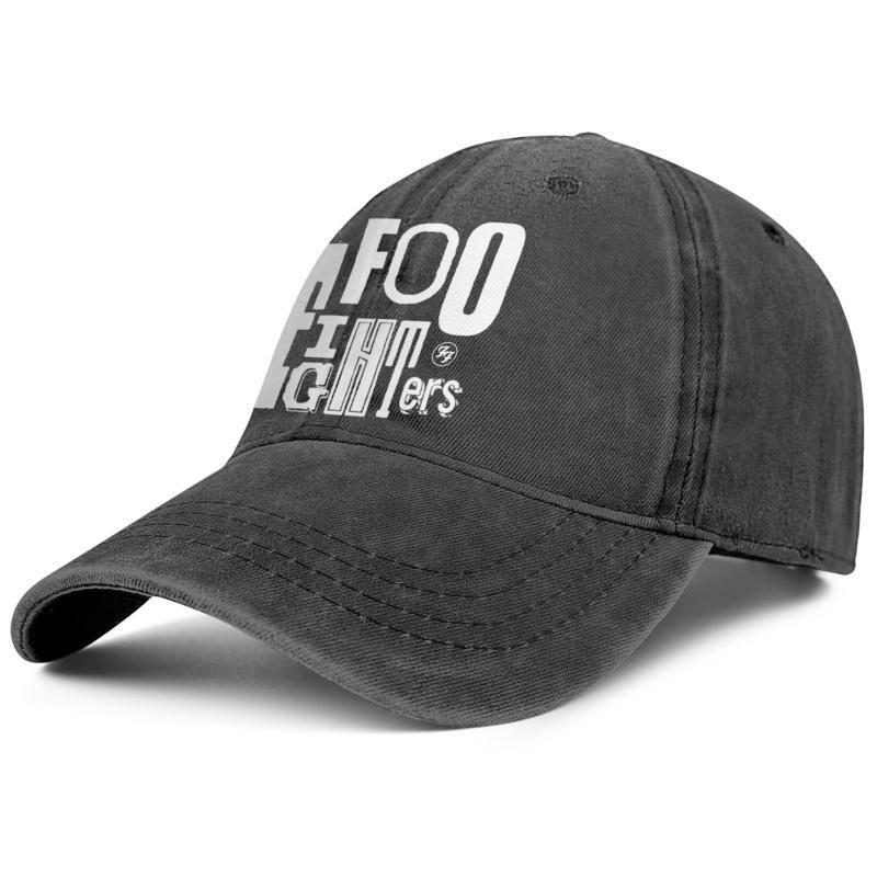 Kamyon Ayarlanabilir Şapka artık tasarım serin unisex Foo Fighters Rastgele Mektupları Logo sevimli benzersiz özgün kovboy Halkalar logosu Senaryo Tri takıldı