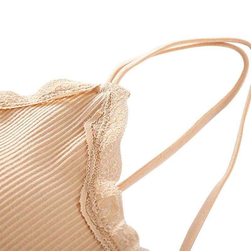 Sexy Strap Cross Tube Top Bra Women Sleeveless Slim Tanks Crop Tops Summer Women Lace Bra