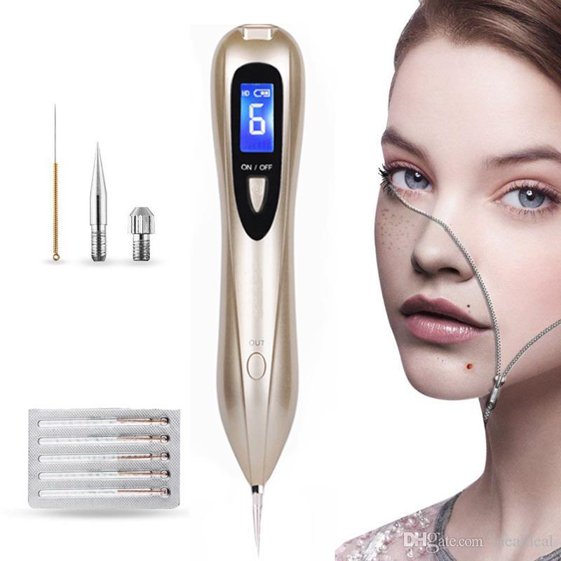 New Laser Spot Removal Pen Freckle Mole Wart Tattoo Removal Machine Utensili per la cura della bellezza per la casa Bellezza del viso