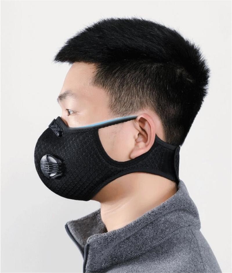 Оптовая маска 5 слоев Защитного РМ2,5 пыл маска Замена Вставка дышащий Fy6014 # QA949