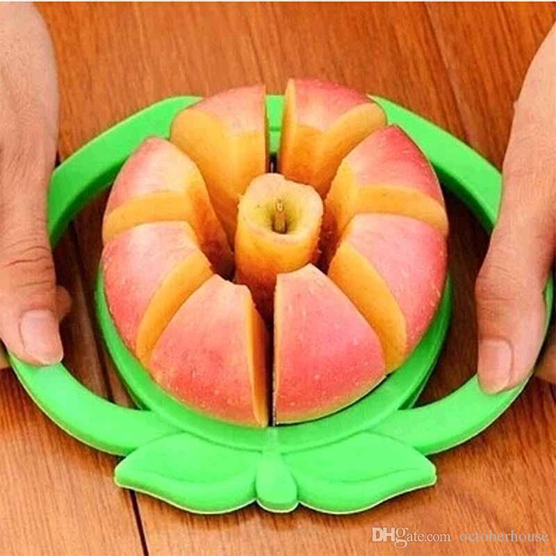 fruits coupés outil ménages déchiqueteuses en acier inoxydable multi-fonction trancheuses Couper l'appareil de gadgets de cuisine énucléé pomme