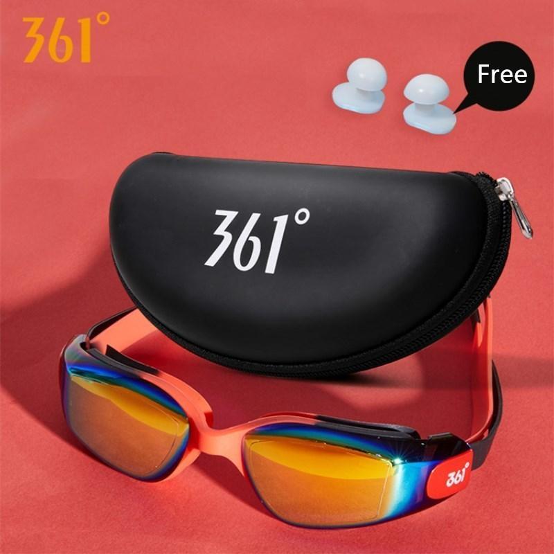 361 Crianças Óculos de Proteção Uv Piscina Eyewear Com Caso Água Nadar Óculos Para Crianças Anti Fog C19041201