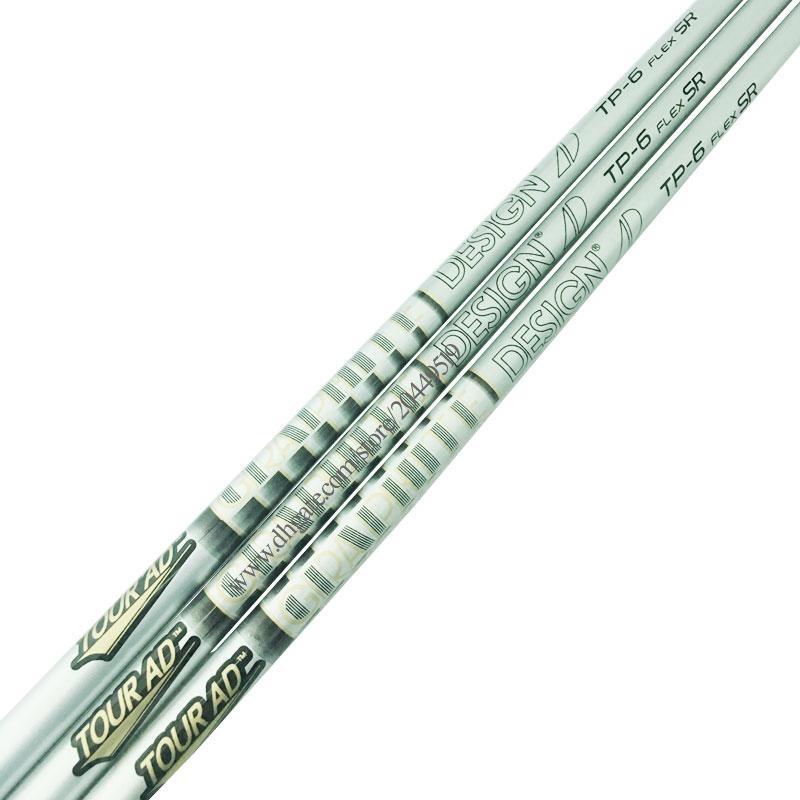 New Clubs albero TOUR AD DESIGN TP-6 Albero porta-golf 3pcs / lot Legno grafite albero SR o S Flex mazze da golf Spedizione gratuita