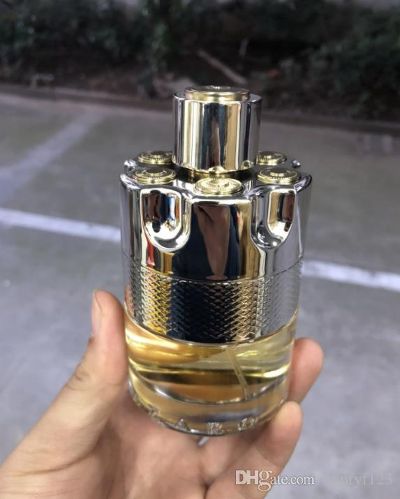 Brand Solid Fashion Bullet 남성용 100ml 소나무 향수 향수 긴 지속적인 Eau de parfum 최고 품질의 CZ138