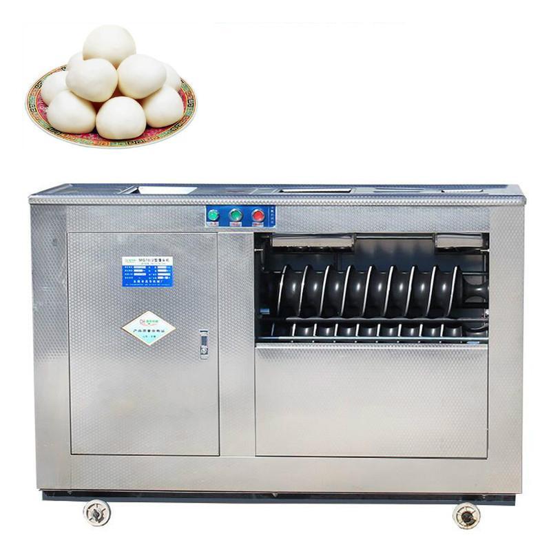 Industrielle automatische Dampfbrotkopfformmaschine elektrisches automatisches Form gedämpftes Brot Teigkugel Formmaschine