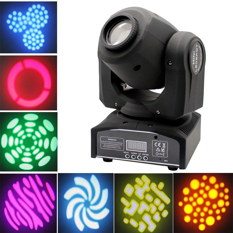 60W DJ LED Moving Head feixe lavagem luz DMX512 RGBW Amarelo roxo DMX 512 iluminação de palco para DJ Disco Club Party casamento da igreja Concerto vivo