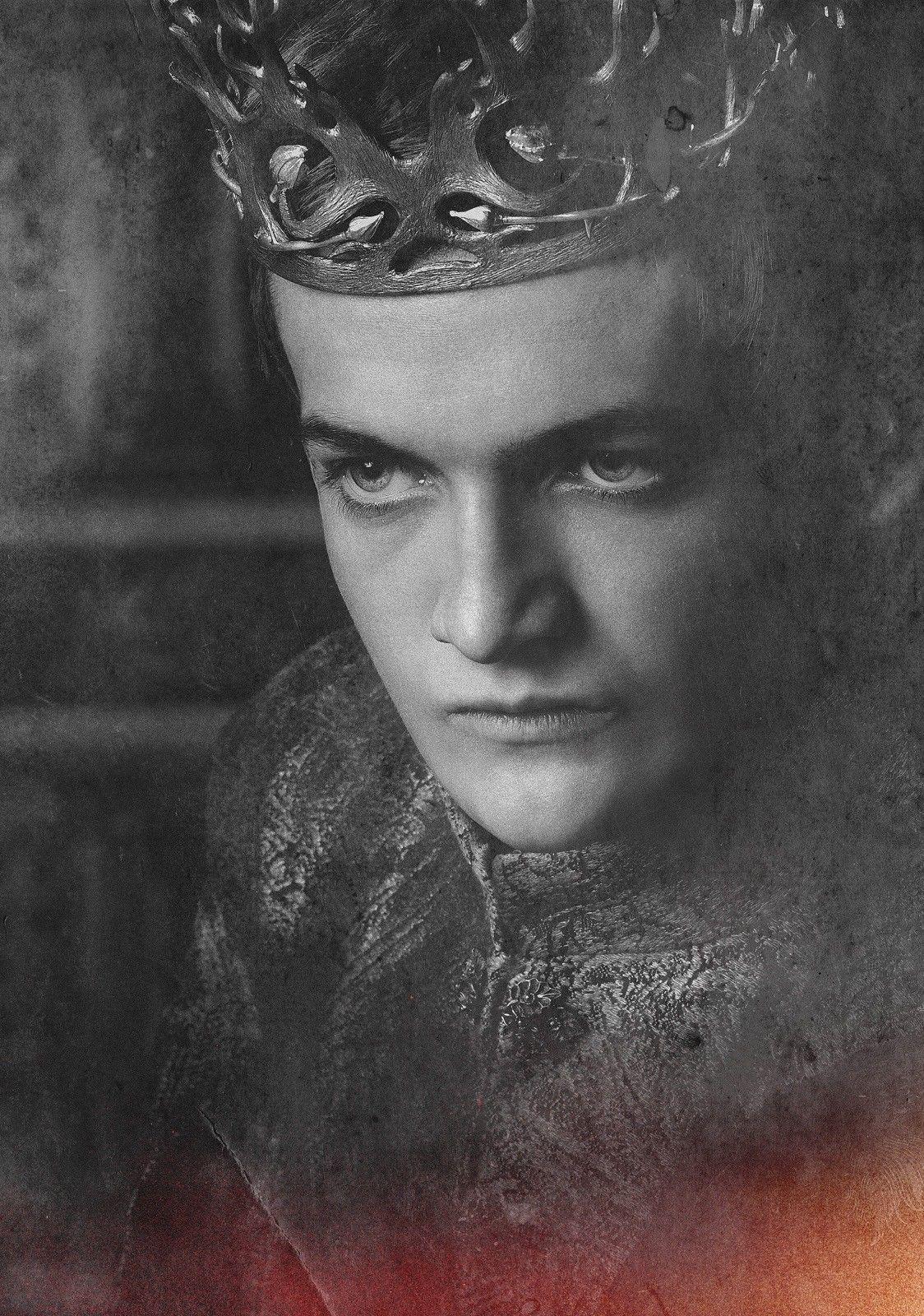 Game of Thrones Série Tv Arte Arte Jack Gleeson Joffrey Baratheon Arte De Seda De Impressão Cartaz 24x36 polegada (60x90 cm)