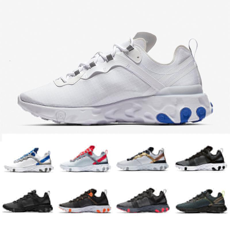55 36 45 Game Royal Solar Red React Element Total Orange Men Running Shoes For Designer Sports Mens Women Trainer S Sneakers - Outdoor