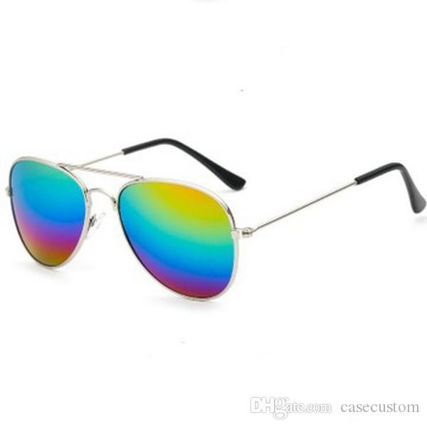 Новый дизайн Дешевые очки Дети Красочная Светоотражающие Юрт Детские солнцезащитные очки Gafas Para Нинос Occhiali Da Sole Bambino Lunette De Soleil Bebe