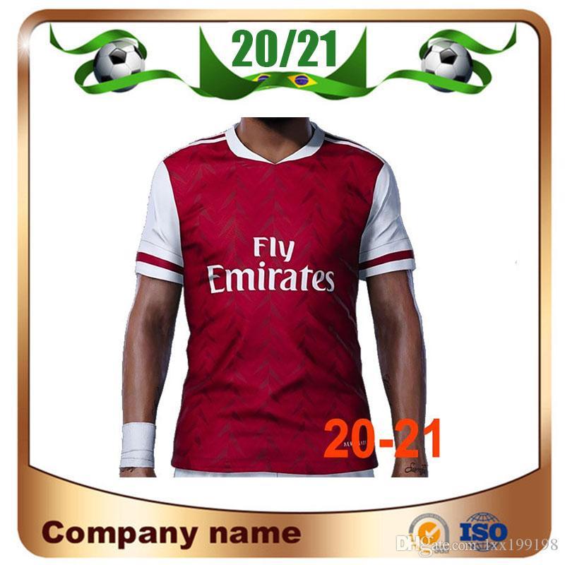 20/21 artilheiros home red Soccer jersey 2020 PEPE NICOLAS CEBALLOS HENRY GUENDOUZI SOKRATIS MAITLAND-Niles TIERNEY uniformes de camisa de futebol