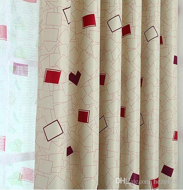 rideau pastoral fini tous les rideaux de la chambre occultants tissu ombre épaississement salon sur mesure tissu