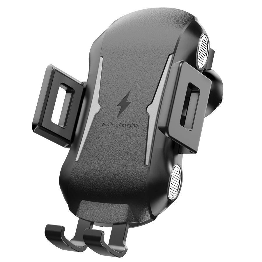 50шт C20 Смарт Быстрая зарядка Автомобильный телефон Беспроводное зарядное устройство кронштейн Outlet Sucker для Iphone 11 Pro Max Samsung Huawei Xiaomi OPPO VIVO DHL